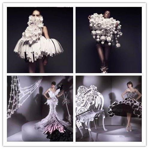 那些美呆的服装设计 灵感之折纸艺术