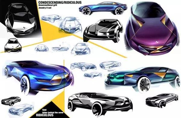 accd汽车设计毕业作品展