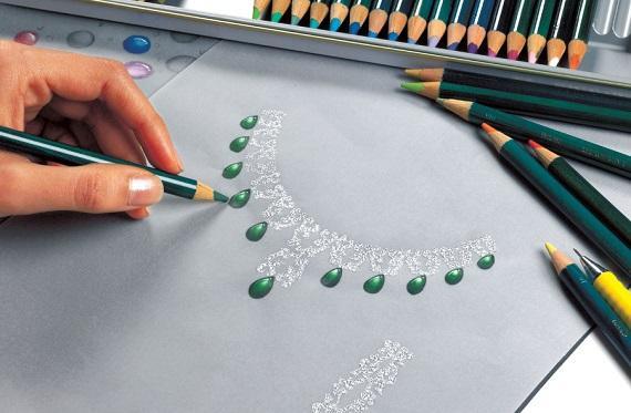 学习珠宝设计或者首饰设计的同学通过书本可以学到珠宝鉴定的理论依据