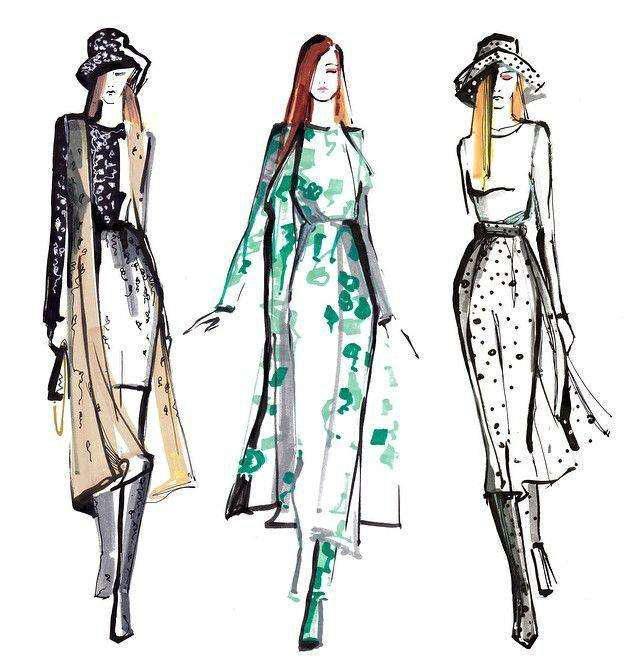 服装设计手绘图会被电脑绘图取代吗?