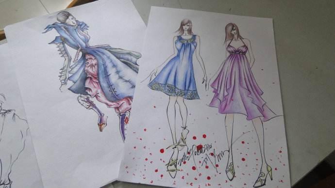 掌握绘图技巧,服装设计师的必经之路